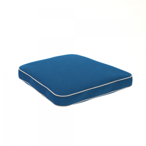Dry Lion Trapezoid Weatherproof Cushion, Contrast Piping
